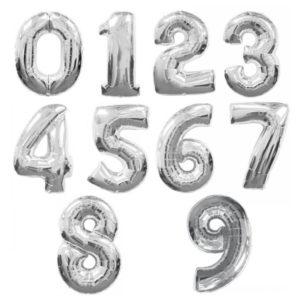 cijfer zilver 1m