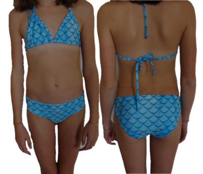 luxe bikini blauw