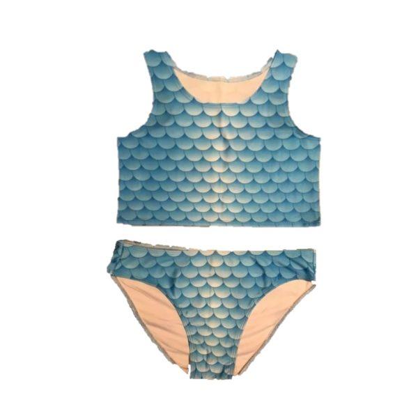 luxe blauwe bikini