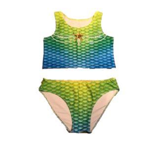 anna blue bikini