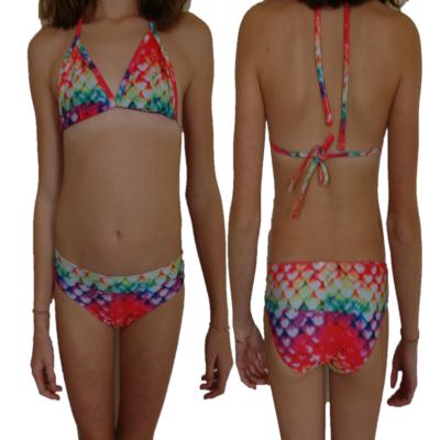 luxe bikini rainbow