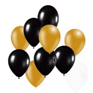 ballonnen zwart goud