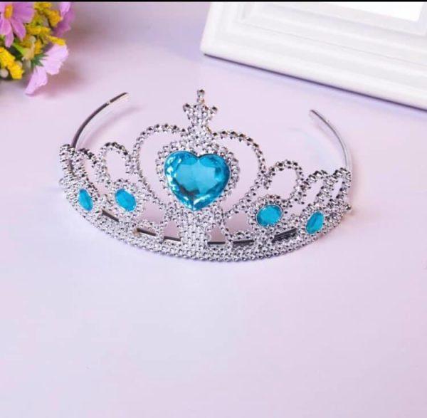 kroon blauwe diamanten