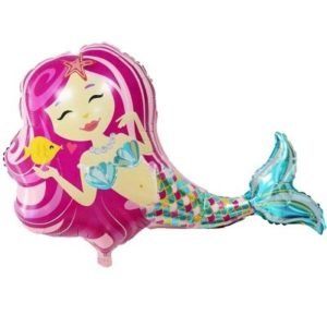 mermaid ballon