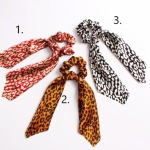 scrunchies linten animal hip